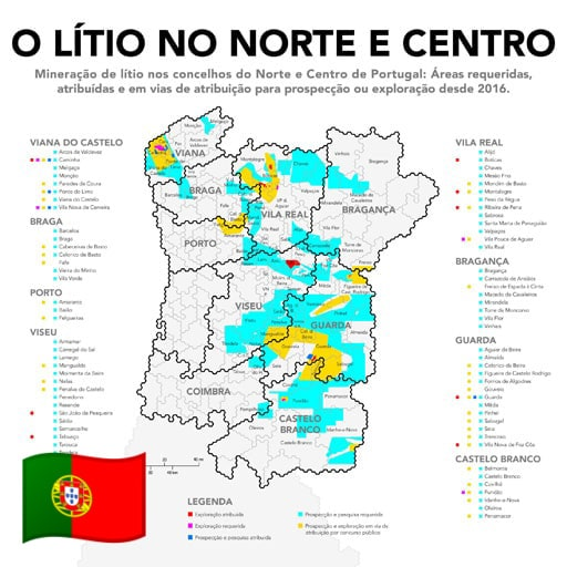 Miningwatch Portugal National Monitoring Network On Mining Projects